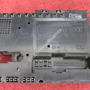 0001681V006 BODY COMPUTER REM PER SMART FORTWO 450 2001 - USATO MARCA ORIGINALE SMART ( RIF. CODICE 461240 / 001 / 001 ) CONDIZIONI COME DA FOTO 25926 - E6