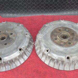 4009072 COPPIA TAMBURI PER FIAT 1100 D - USATO - DA RETTIFICARE CONDIZIONI COME DA FOTO 26095 - F9