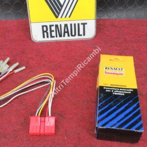 0020022503 CONNETTORE AUTORADIO PER RENAULT TWINGO - PER 2 ALTOPARLANTI MARCA ORIGINALE RENAULT FONDO DI MAGAZZINO 26218 - SC EUG