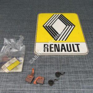7701201325 COPPIE SPAZZOLE MOTORINO AVVIAMENTO PER RENAULT - CITROEN MARCA ISKA ( RIF. CODICE 16905108 ) FONDO DI MAGAZZINO 26494 - B5+