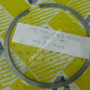 7700743598 FASCIA ELASTICA PER RENAULT R5 TX MARCA ORGINALE RENAULT FONDO DI MAGAZZINO 27806 - M10